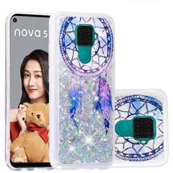 Fantasy Wind Chimes Dynamic Liquid Glitter Quicksand Soft TPU Case for Huawei Mate 30 Lite(Nova 5i Pro)