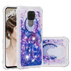 Retro Wind Chimes Dynamic Liquid Glitter Sand Quicksand Star TPU Case for Huawei Mate 30 Lite(Nova 5i Pro)