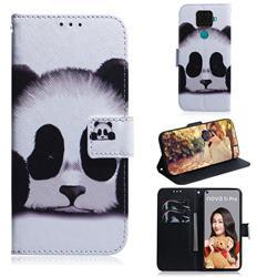 Sleeping Panda PU Leather Wallet Case for Huawei Mate 30 Lite(Nova 5i Pro)