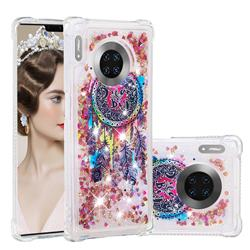 Seal Wind Chimes Dynamic Liquid Glitter Sand Quicksand Star TPU Case for Huawei Mate 30 Pro