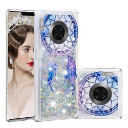 Fantasy Wind Chimes Dynamic Liquid Glitter Quicksand Soft TPU Case for Huawei Mate 30 Pro