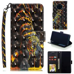 Tiger Totem 3D Painted Leather Phone Wallet Case for Huawei Mate 30 Pro