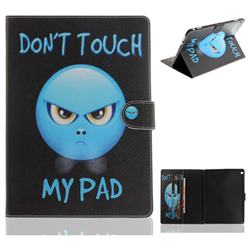 Not Touch My Phone Painting Tablet Leather Wallet Flip Cover for Huawei MediaPad M3 Lite 10