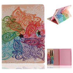 Magic Flower Painting Tablet Leather Wallet Flip Cover for Huawei MediaPad M3 Lite 10