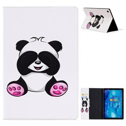 Lovely Panda Folio Stand Leather Wallet Case for Huawei MediaPad M5 10 / M5 10 inch (Pro)