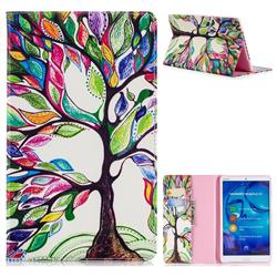 The Tree of Life Folio Stand Leather Wallet Case for Huawei MediaPad M5 8 inch