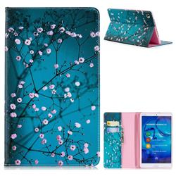 Blue Plum Folio Stand Leather Wallet Case for Huawei MediaPad M5 8 inch