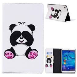 Lovely Panda Folio Stand Leather Wallet Case for Huawei MediaPad M5 8 inch