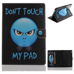 Not Touch My Phone Painting Tablet Leather Wallet Flip Cover for Huawei MediaPad T3 10