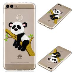 Tree Panda Super Clear Soft TPU Back Cover for Huawei P Smart(Enjoy 7S)