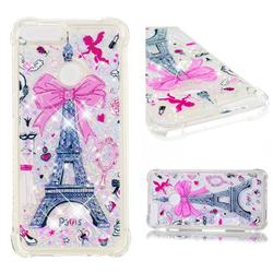 Mirror and Tower Dynamic Liquid Glitter Sand Quicksand Star TPU Case for Huawei P Smart(Enjoy 7S)