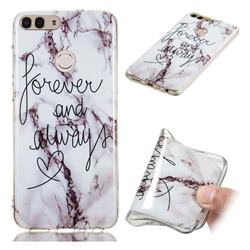 Forever Soft TPU Marble Pattern Phone Case for Huawei P Smart(Enjoy 7S)