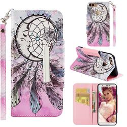 Angel Monternet Big Metal Buckle PU Leather Wallet Phone Case for Huawei P Smart(Enjoy 7S)