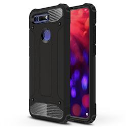 King Kong Armor Premium Shockproof Dual Layer Rugged Hard Cover for Huawei Honor View 20 / V20 - Black Gold