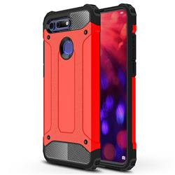 King Kong Armor Premium Shockproof Dual Layer Rugged Hard Cover for Huawei Honor View 20 / V20 - Big Red