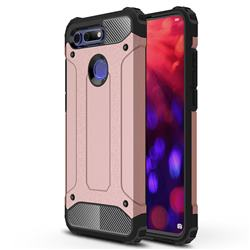 King Kong Armor Premium Shockproof Dual Layer Rugged Hard Cover for Huawei Honor View 20 / V20 - Rose Gold