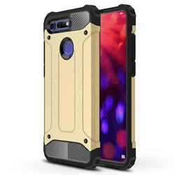 King Kong Armor Premium Shockproof Dual Layer Rugged Hard Cover for Huawei Honor View 20 / V20 - Champagne Gold