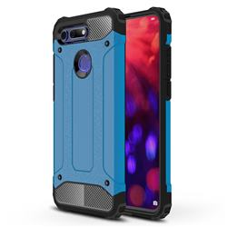 King Kong Armor Premium Shockproof Dual Layer Rugged Hard Cover for Huawei Honor View 20 / V20 - Sky Blue
