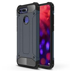 King Kong Armor Premium Shockproof Dual Layer Rugged Hard Cover for Huawei Honor View 20 / V20 - Navy