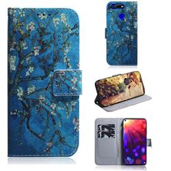 Apricot Tree PU Leather Wallet Case for Huawei Honor View 20 / V20