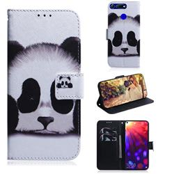 Sleeping Panda PU Leather Wallet Case for Huawei Honor View 20 / V20
