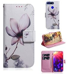 Magnolia Flower PU Leather Wallet Case for Huawei Honor View 20 / V20