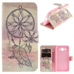 Dream Catcher PU Leather Wallet Case for Huawei Y3 (2017)