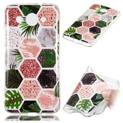 Rainforest Soft TPU Marble Pattern Phone Case for Huawei Y3 (2018)