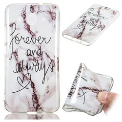 Forever Soft TPU Marble Pattern Phone Case for Huawei Y3 (2018)