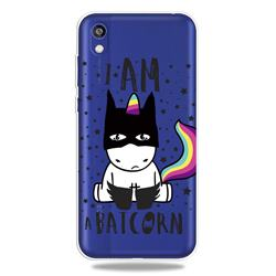 Batman Clear Varnish Soft Phone Back Cover for Huawei Y5 (2019)