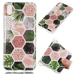 Rainforest Soft TPU Marble Pattern Phone Case for Huawei Y5 (2019)