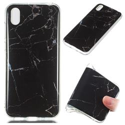 Black Soft TPU Marble Pattern Case for Huawei Y5 (2019)