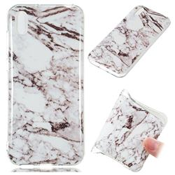 White Soft TPU Marble Pattern Case for Huawei Y5 (2019)