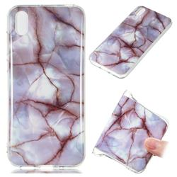 Earth Soft TPU Marble Pattern Phone Case for Huawei Y5 (2019)
