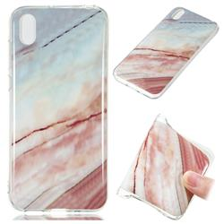 Elegant Soft TPU Marble Pattern Phone Case for Huawei Y5 (2019)