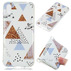 Hill Soft TPU Marble Pattern Phone Case for Huawei Y5 (2019)