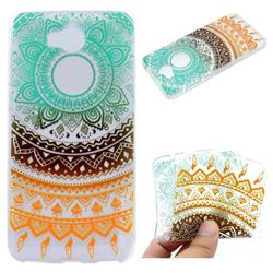 Tribe Flower Super Clear Soft TPU Back Cover for Huawei Y5 (2017)