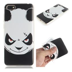 Angry Bear IMD Soft TPU Cell Phone Back Cover for Huawei Y5 Prime 2018 (Y5 2018)