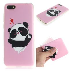 Heart Cat IMD Soft TPU Cell Phone Back Cover for Huawei Y5 Prime 2018 (Y5 2018)