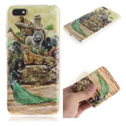 Beast Zoo IMD Soft TPU Cell Phone Back Cover for Huawei Y5 Prime 2018 (Y5 2018)