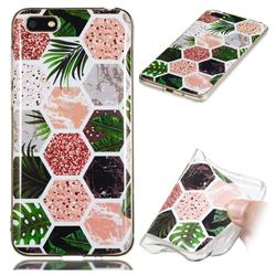 Rainforest Soft TPU Marble Pattern Phone Case for Huawei Y5 Prime 2018 (Y5 2018)