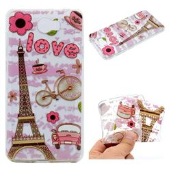 Love Eiffel Tower Super Clear Soft TPU Back Cover for Huawei Y5II Y5 2 Honor5 Honor Play 5
