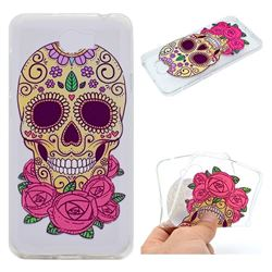 Skeleton Flower Super Clear Soft TPU Back Cover for Huawei Y5II Y5 2 Honor5 Honor Play 5