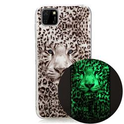 Leopard Tiger Noctilucent Soft TPU Back Cover for Huawei Y5p