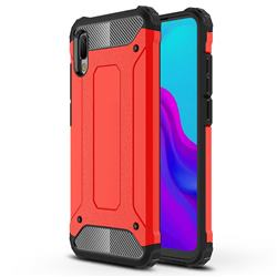 King Kong Armor Premium Shockproof Dual Layer Rugged Hard Cover for Huawei Y6 (2019) - Big Red