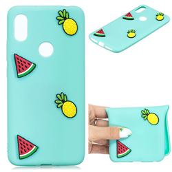 Watermelon Pineapple Soft 3D Silicone Case for Huawei Y6 (2019)