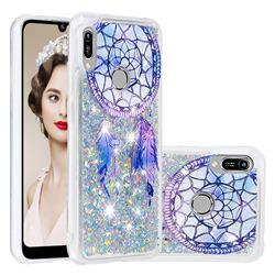 Fantasy Wind Chimes Dynamic Liquid Glitter Quicksand Soft TPU Case for Huawei Y6 (2019)
