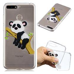 Tree Panda Super Clear Soft TPU Back Cover for Huawei Y6 (2018)