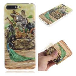 Beast Zoo IMD Soft TPU Cell Phone Back Cover for Huawei Y6 (2018)