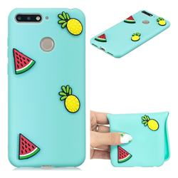 Watermelon Pineapple Soft 3D Silicone Case for Huawei Y6 (2018)